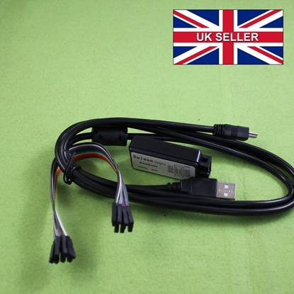 Picture of Logic Analyser 24MHz 8 Channel Input 20cm USB (Saleae-Compatible)