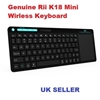 Picture of Rii K18 Mini Wireless Keyboard with Touch Pad Mouse Stainless