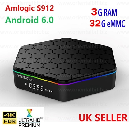 Picture of T95Z Plus S912 3GB+32GB Octa Core Android  TV Box KODI 2.4/5Ghz Dual WIFI BT