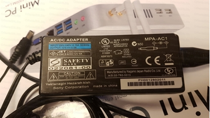Picture of 12V 5A Power supply for our Intel i3 with Com Port Mini PC