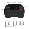 Picture of Rii i8X 2.4G Wireless Backlit Keyboard Touchpad Airmouse with Scroll
