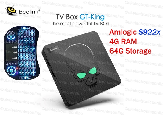 Picture of Beelink GT-King Android 9 TV Box 4GB/64GB Amlogic S922X BT4.1 DUAL WiFi