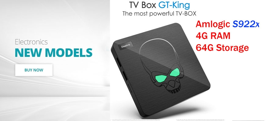 Beelink GT-King Android 9 TV Box 4GB/64GB Amlogic S922X BT4.1 DUAL WiFi