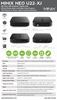 Picture of MINIX NEO U22-XJ Android TV BOX Mini PC Wireless WiFi HDMI HDR 4K Media Player