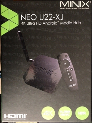 Picture of MINIX NEO U22-XJ Android TV BOX Mini PC Wireless WiFi HDMI HDR 4K Media Play, A3 Air Mouse