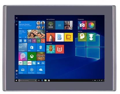 Picture of Industrial grade 12 inch touch panel pc Aluminum alloy IP66 front bezel all in one computer x86